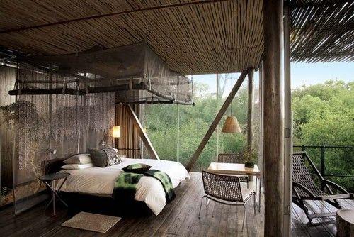 waouh! Architektur Pinterest Parks, Africa und Innenräume - schlafzimmer mit ausblick ideen bilder
