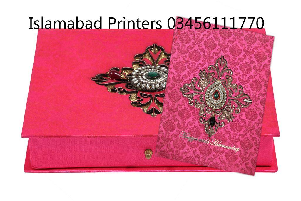 Sigma Press Rawalpindi Wedding Cards Card box wedding