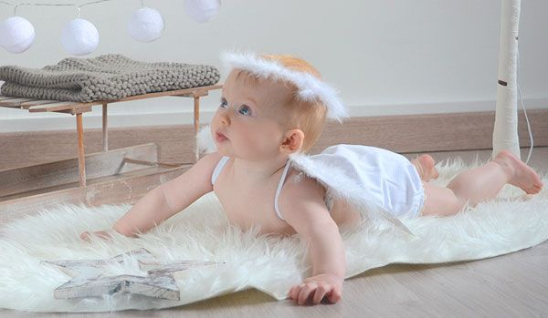 Alas angel bebe disfraz tienda on line entrega 24 horas - Cuadros originales para bebes ...