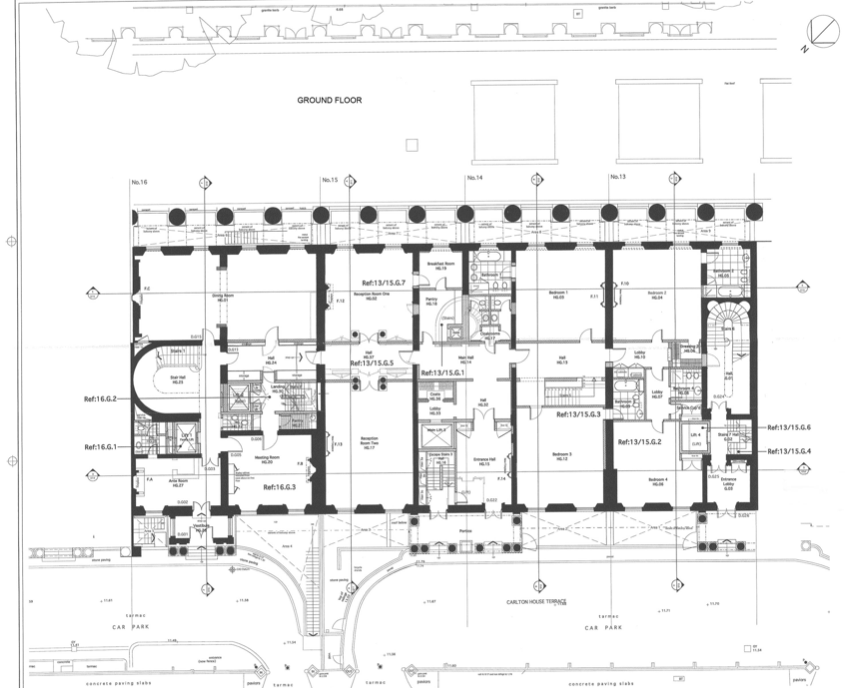 Plate 4 First Floor Plan Architectural Floor Plans Floor Plans Apartment Floor Plans