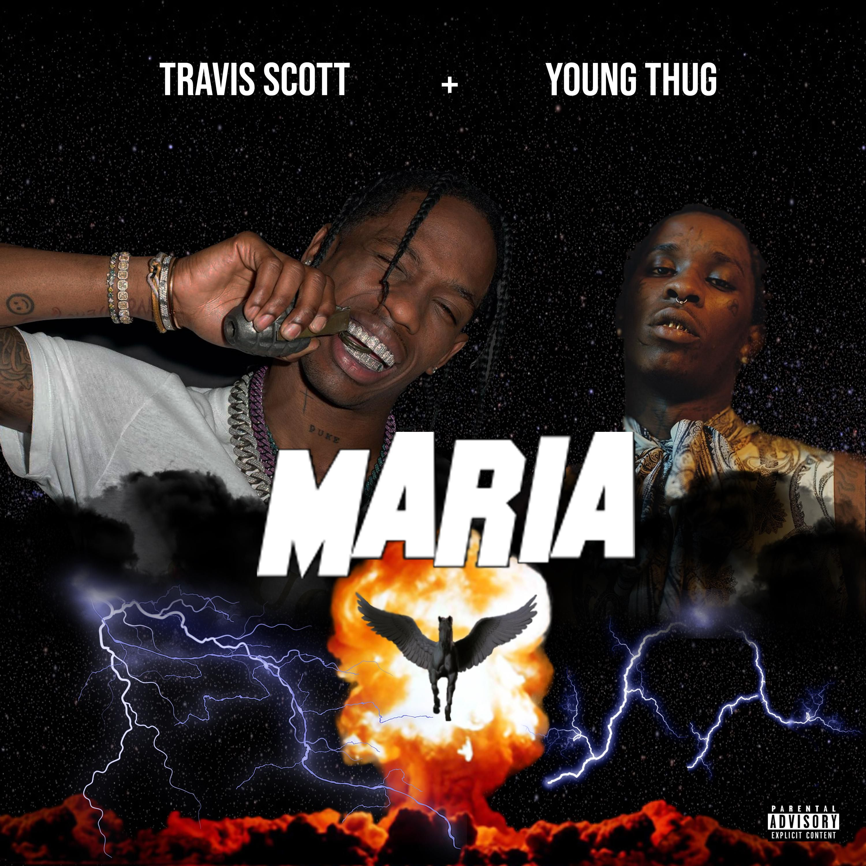 Travis Scott ft. Young Thug Maria Young thug, Travis