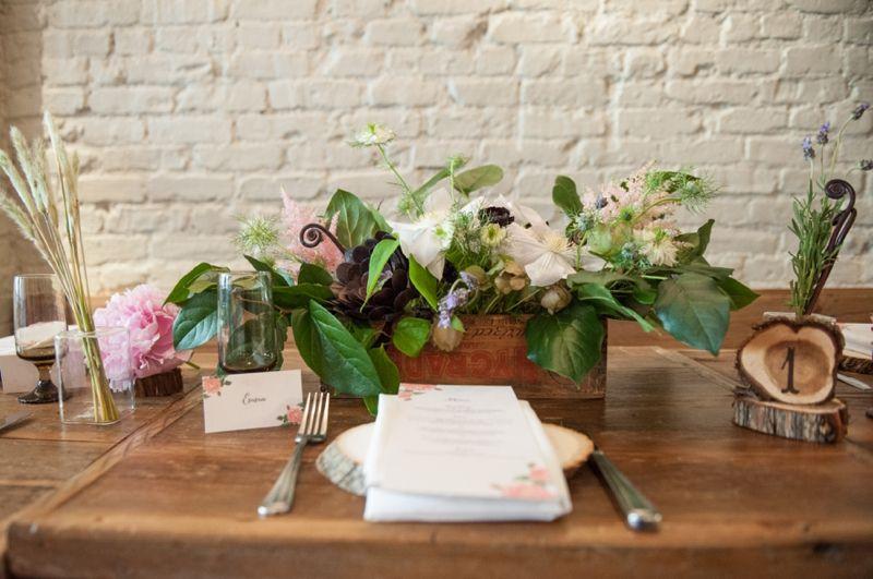 Floral Print Wedding Ideas {Rustic}