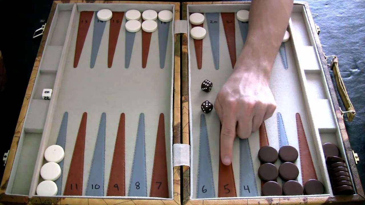 Beginner Backgammon Tutorial 4 Bearing Off YouTube