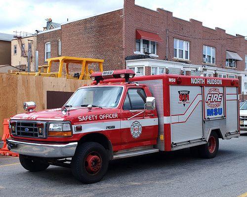 Msu Mask Service Unit Fire Vehicle North Hudson Regional Fire Rescue New Jersey Fire Trucks Rescue Vehicles Fire Rescue