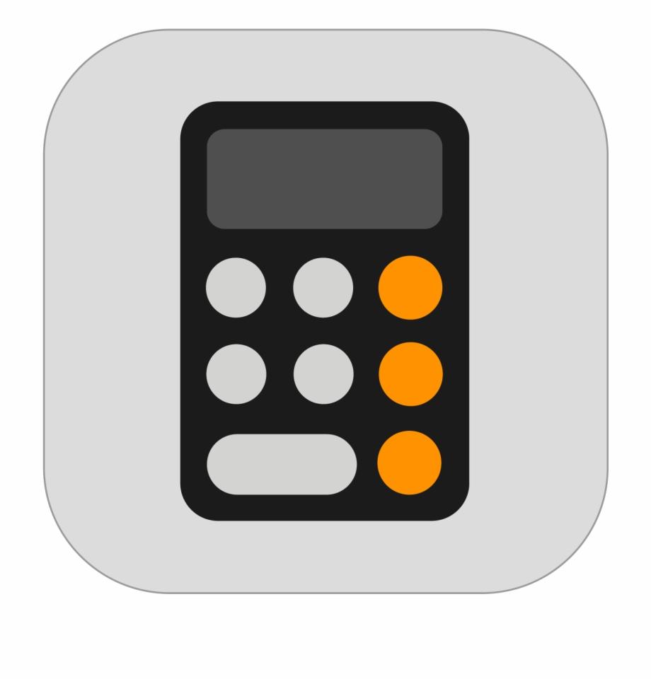 Ios 11 Calculator Icon Le In