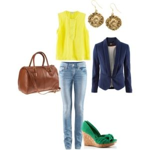 My polyvore H & M outfit - a Spring or Vancouver summer outfit. by lenore