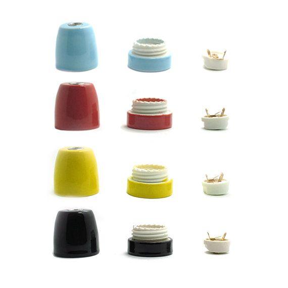 Porcelain Socket Lamp Socket Ceramic Lamp By LightwithShade