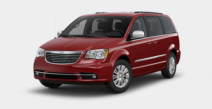 2014 Chrysler Town And Country Touring L Deep Cherry Red Crystal