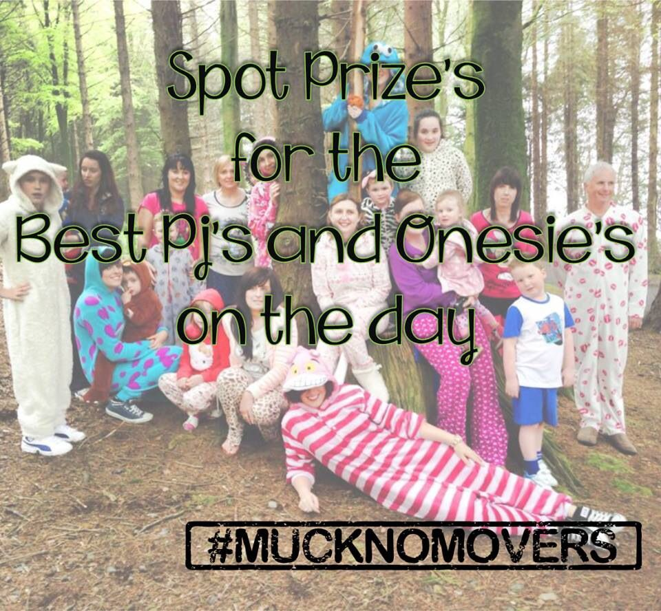 Win a prize for the best pjs and onesies!!..