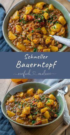 Der Bauerntopf ist das perfekte Rezept für deine Feierabendküche. Schnell, lec...