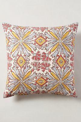 John Robshaw Larkspur Pillow #anthrofave