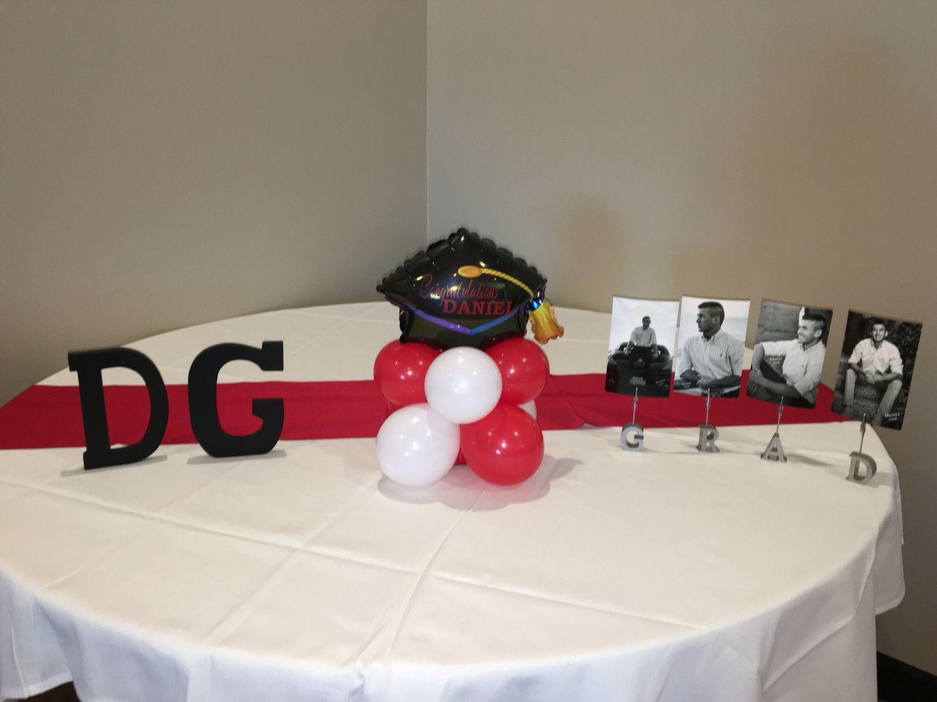 Congratulations daniel custom balloon graduation