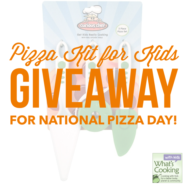 Pizza Kit Giveaway from whatscookingwithkids.com