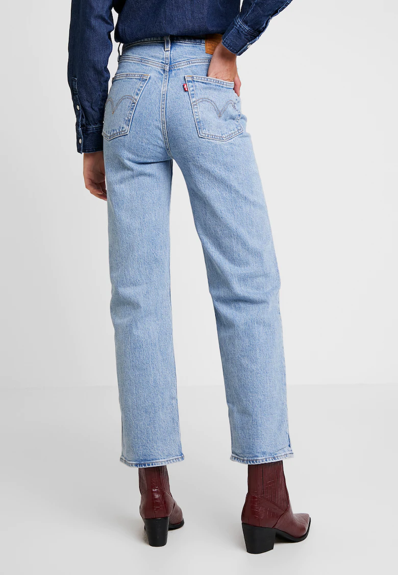 Photo of RIBCAGE RETTVINKEL – Jeans rett ben – tangolys @ Zalando.se 🛒
