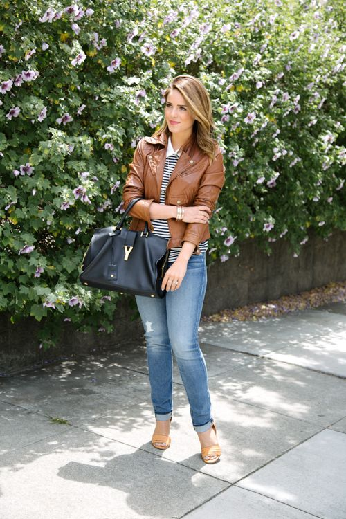 brave light tan leather jacket outfits boots