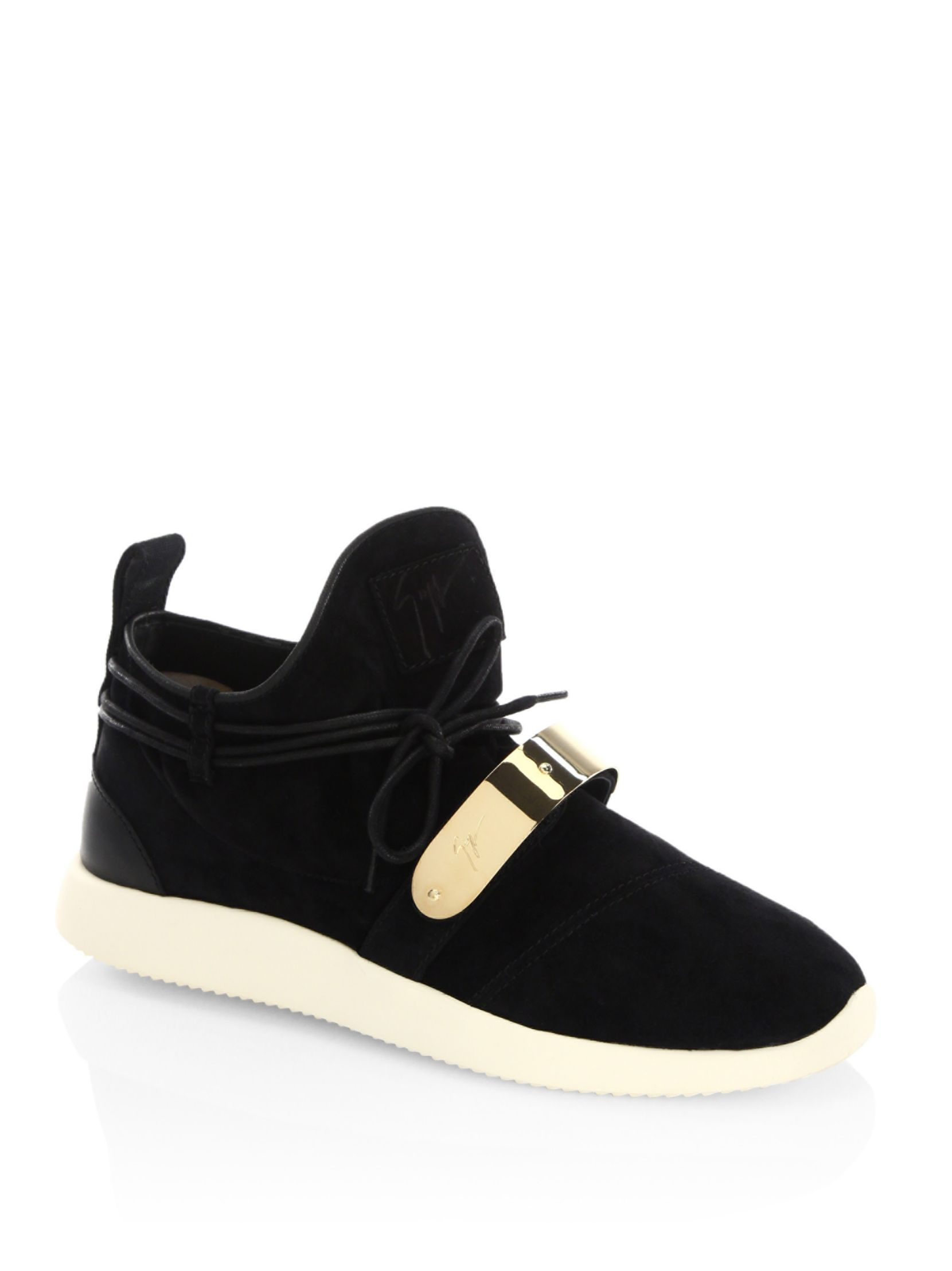 Giuseppe Zanotti Suede Singleg Sneakers ItcjmnLtVZ