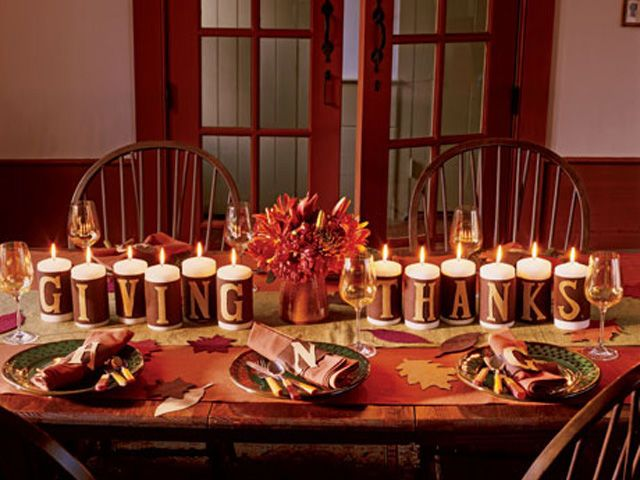 List of Latest Thanksgiving Decoration DIY Project 10