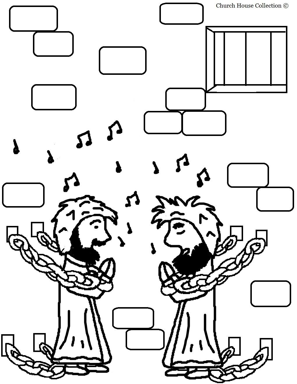 paul coloring pages for kids - photo#36