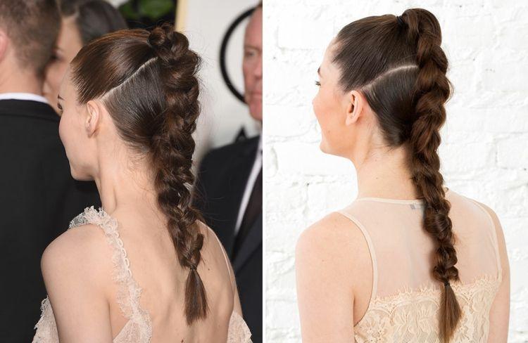 Frisuren lange haare festlich