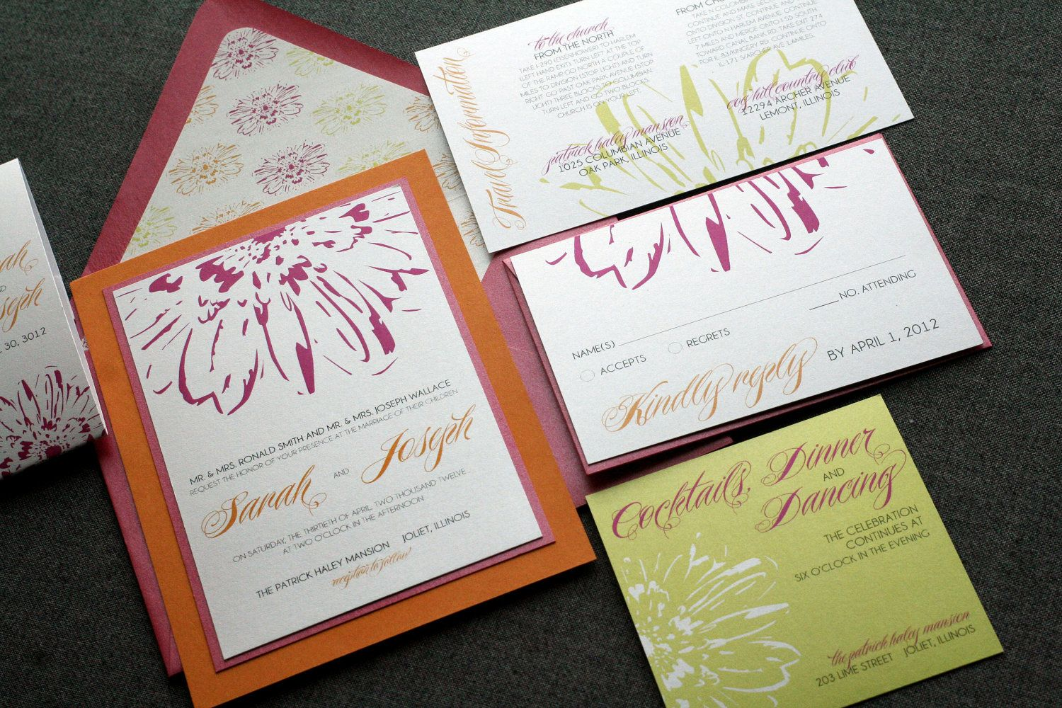 Tropical Wedding Invitations, Hawaiian Invitations, Summer Wedding ...