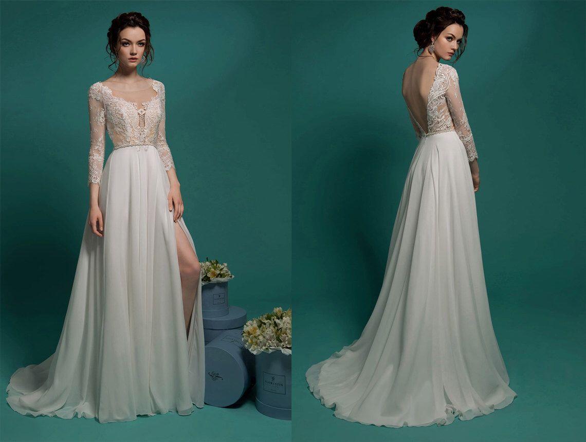 Elegantes Brautkleid, Brautkleider, Hochzeit Kleider Ballkleid ...