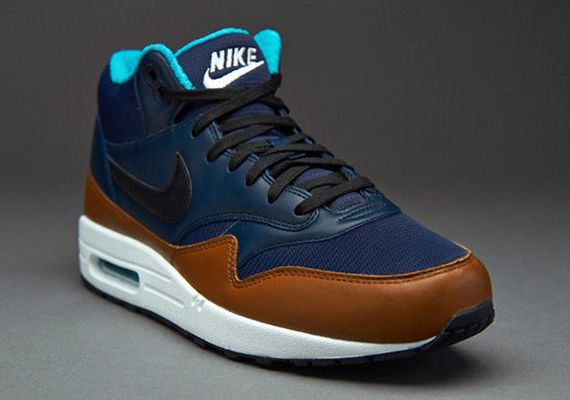 Nike Air Max 1 Mid Obsidian Light British Tan