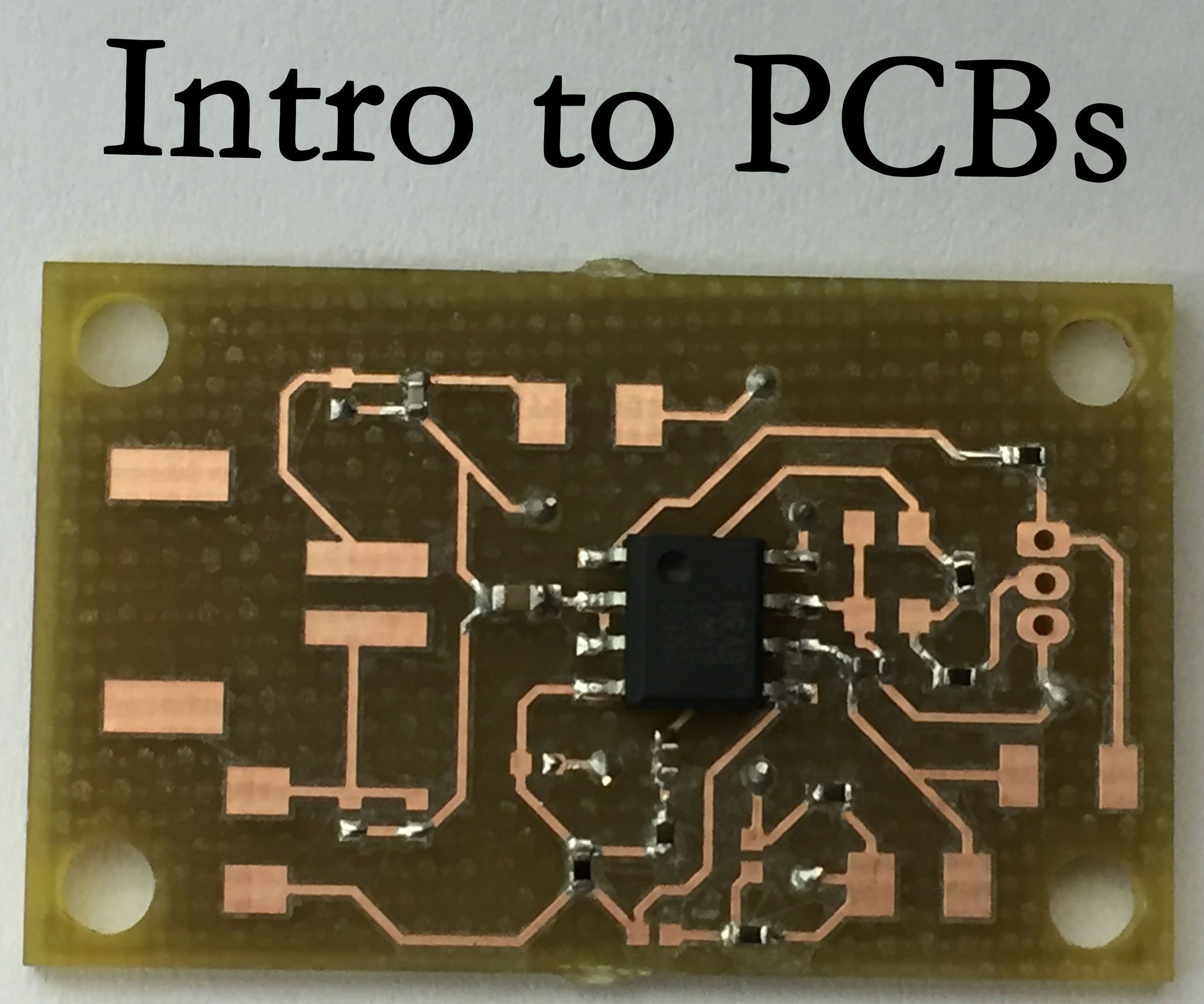 Intro To Printed Circuit Boards Electronics Pinterest Circuits Learning About In This Instructable Ill Go Over What A Board Is Where They Are Used And The Basics Of How Make One Yourself So Sit Back Strap