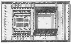 Modello di studio del secondo piano del Palazzo dei Ricevimenti e dei Congressi, 1939 (ASFE42 0988 – Archivio Storico fotografico EUR SpA)