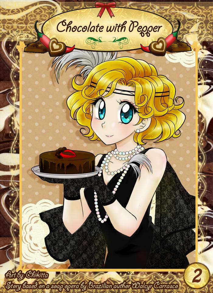 Chocolate with Pepper Manga Cover 2 by chikorita85