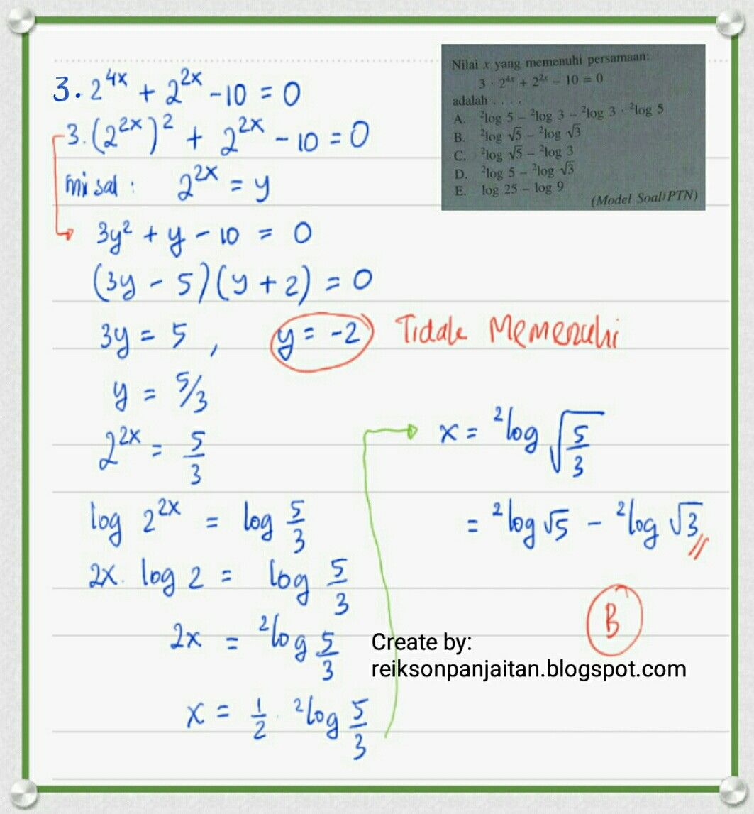Pin by reikson panjaitan on equation of exponensial pinterest equation systems of equations ccuart Gallery