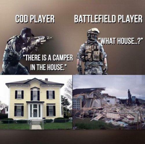 4329820a80d063f9b35a209d51a4d2cb cod vs battlefield funny geek stuffs pinterest cod, gaming