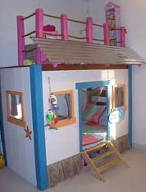 Kids Bedroom House beautiful bunk beds girls | moreover, besides the functionality, a