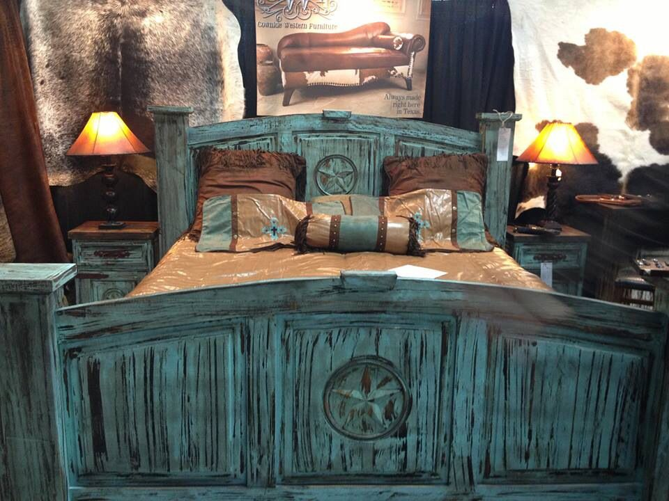 Turquoise Rustic Bed Frames Rustic Bedroom Furniture Rustic Bedroom Rustic Bedding