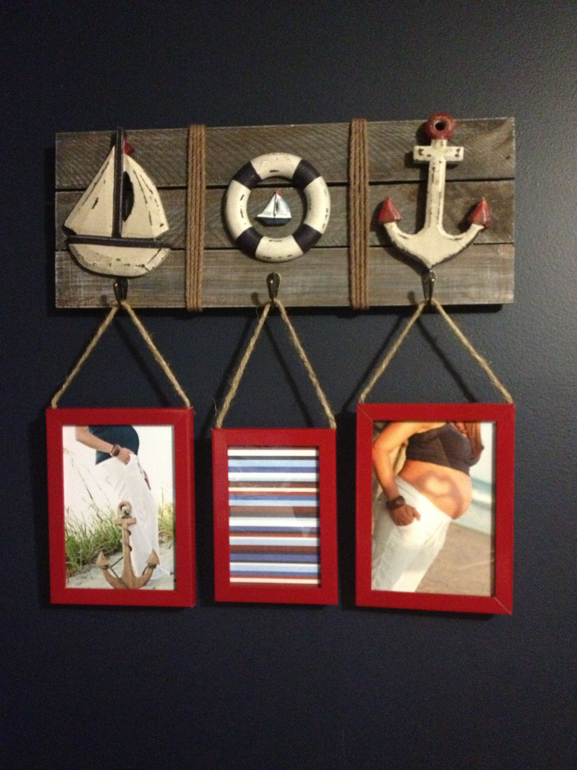 Nautical Room Sailboats Anchors Baby Nursery Boys Room