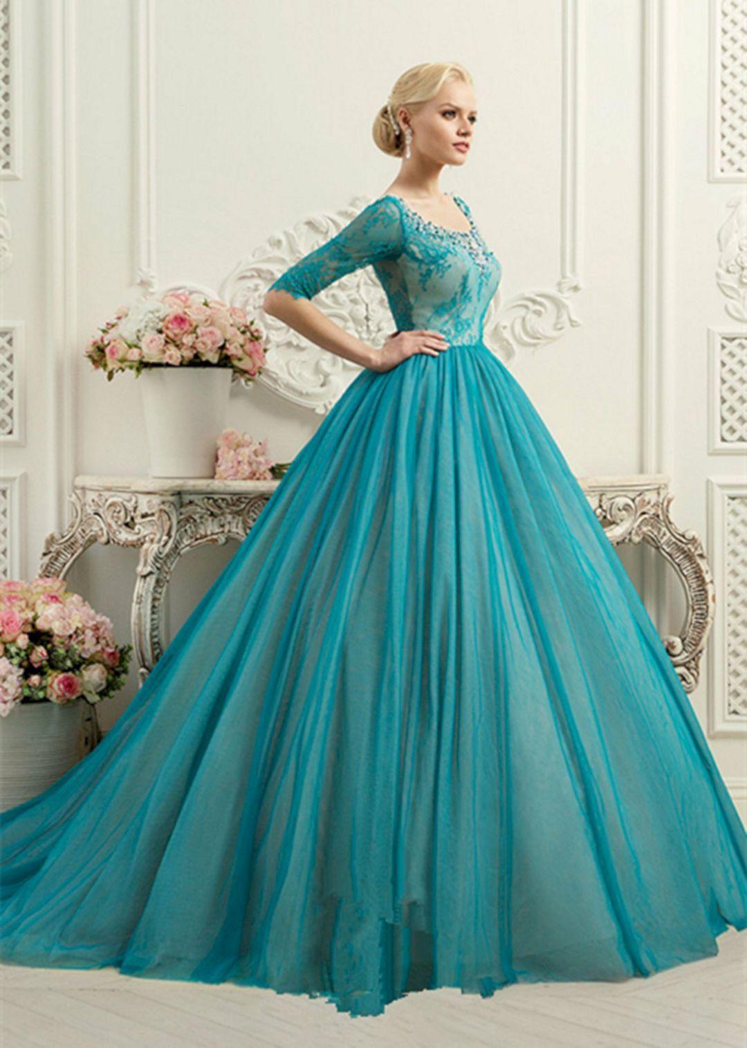 20 marvelous blue wedding dress that look more beautiful