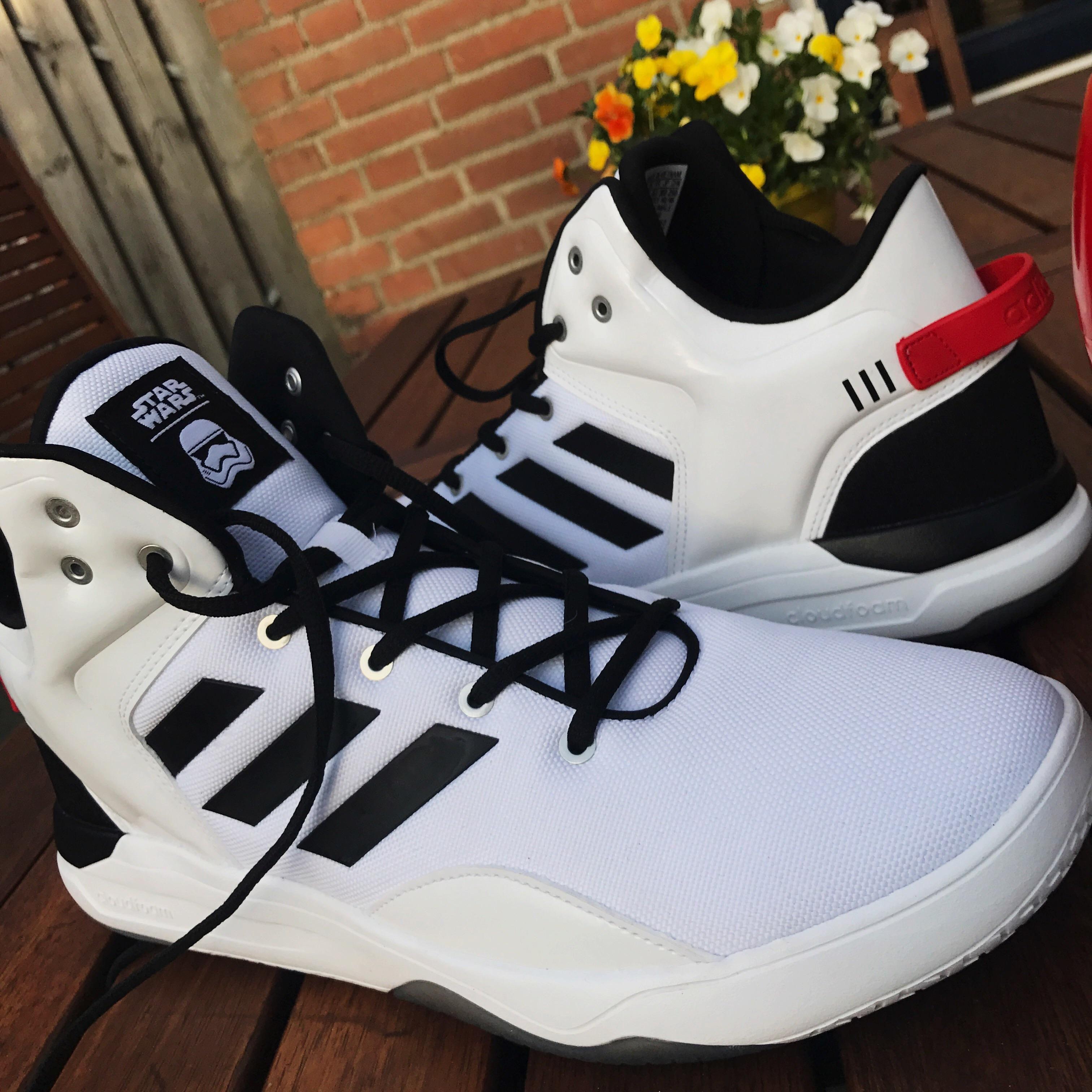 [Pickup] Storm Trooper - Adidas Cloudfoam Revival Mids. Storm TroopersNike  SneakersAdidasStar WarsNike ...