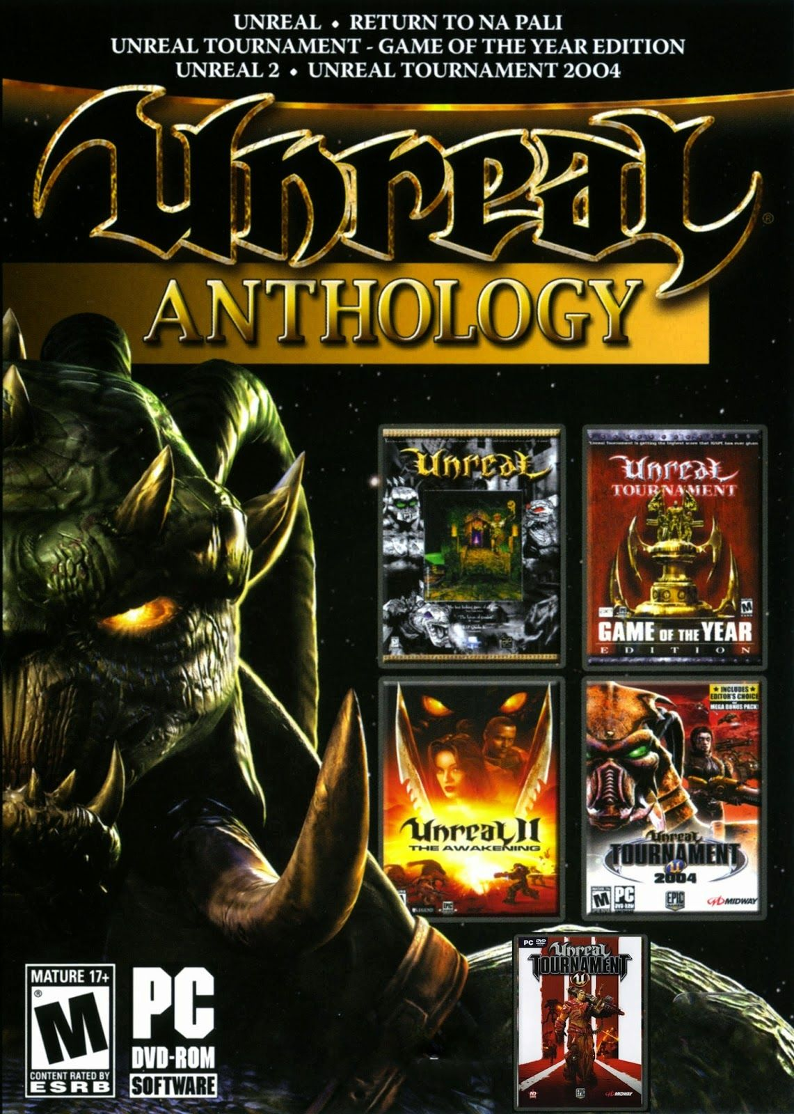 Unreal Anthology PC Game | Anthology, Unreal tournament ...