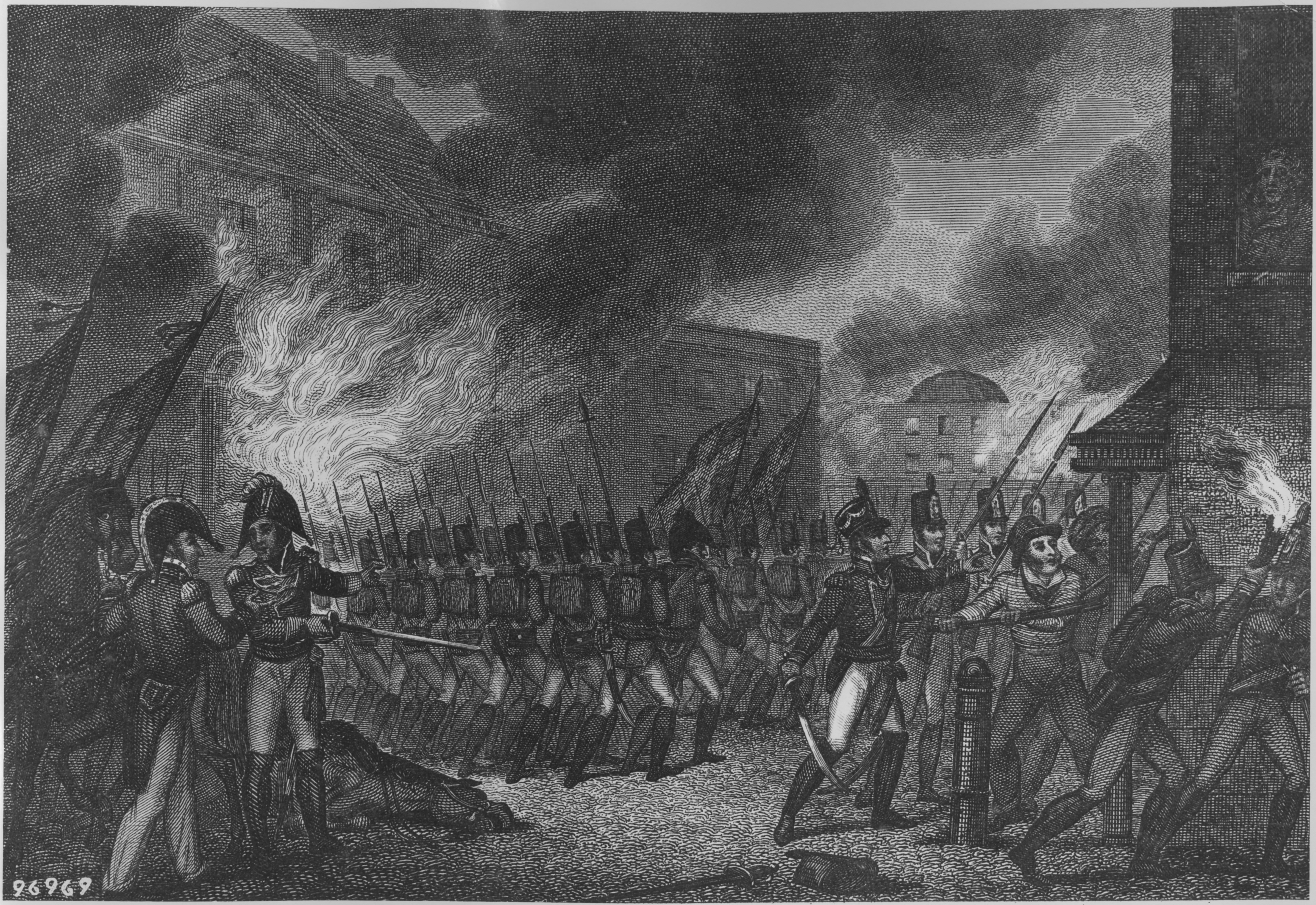 The Burning Of Washington War Of 1812 American Military History Today In History