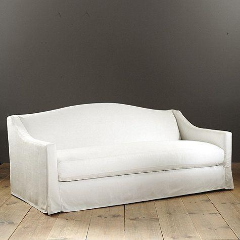 Riviera Indoor/Outdoor Sofa Slipcover - Made to Order Fabrics ...