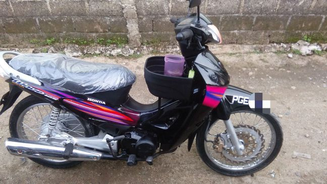 Honda Wave 125 Black