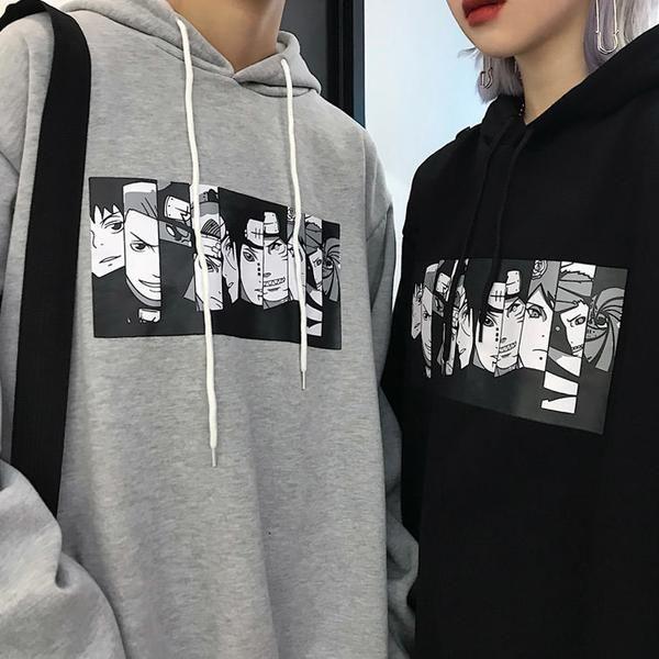 Anime Oversized Hoodie   Aesthetic hoodie, Aesthetic ...