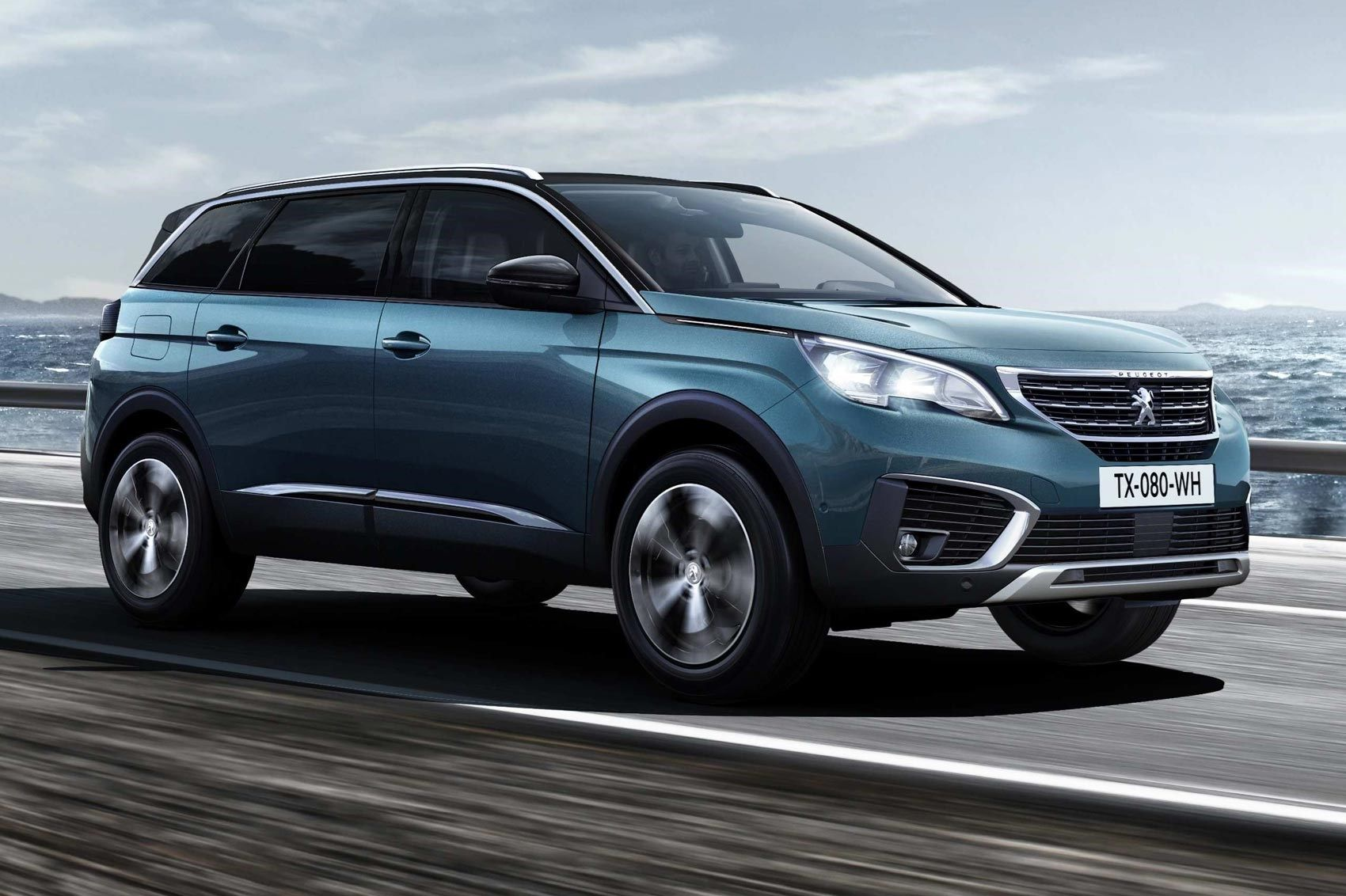 Same Name Very Different Face New Peugeot 5008 Unveiled By Car Magazine Car Magazine Peugeot Lexus Rx 350