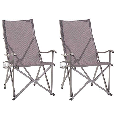 Delightful 2 COLEMAN Ergonomic Patio Lawn Outdoor Sling Camping Folding Chairs W Bag     Read More At The Image Link.
