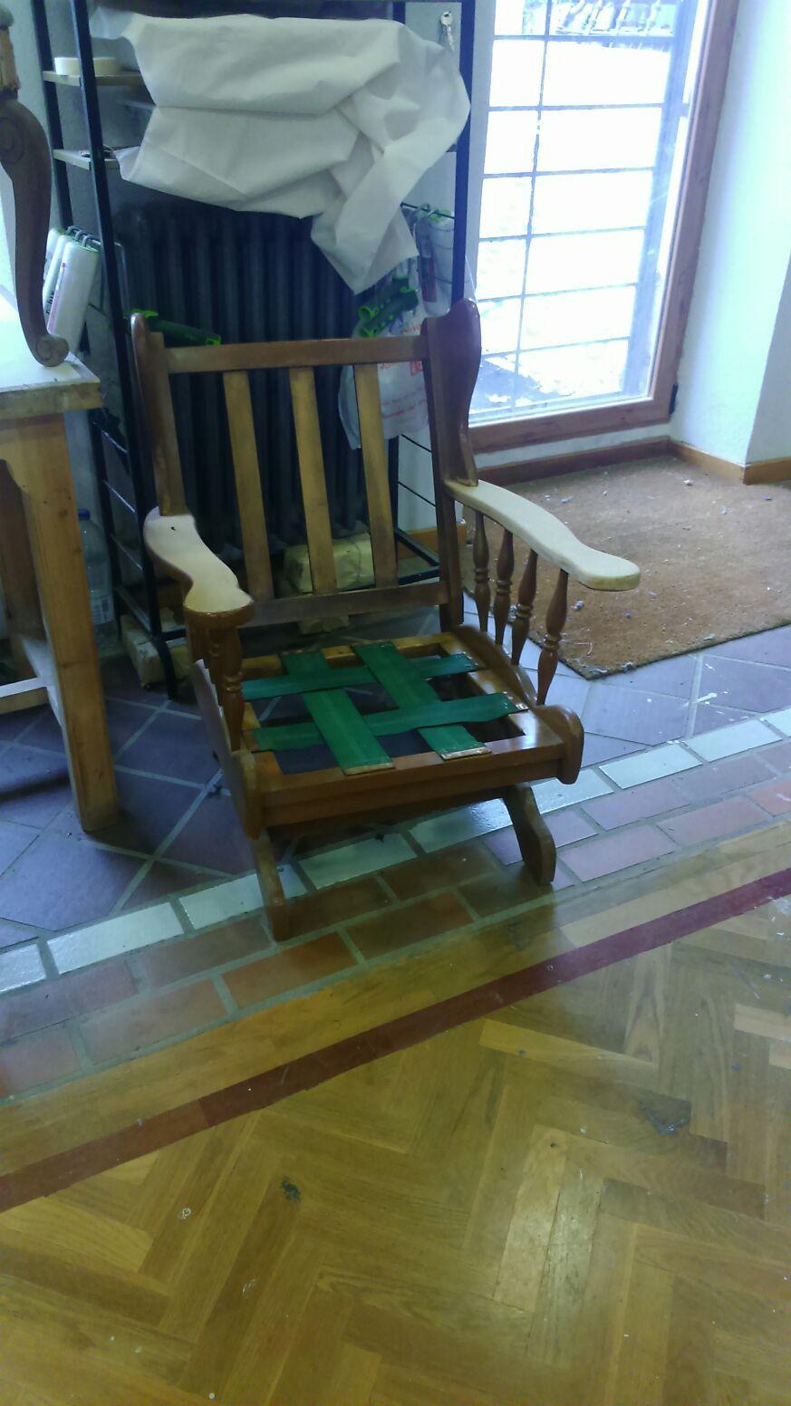 La restauración se junta en muchas ocasiones con la tapicería.