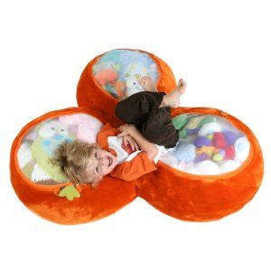 Hmm... With a big enough playroom, this is great stuffed animal storage!