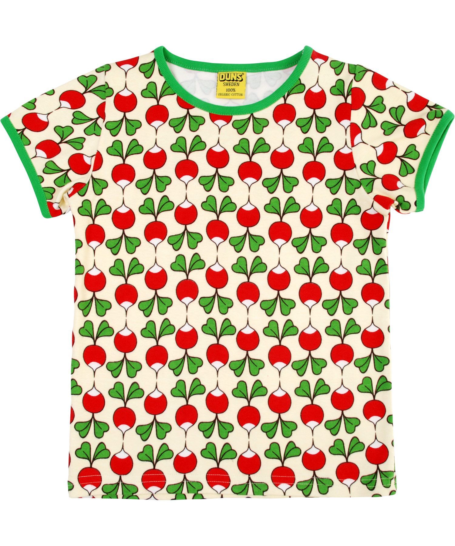 Duns of Sweden adorable raddish printed TshirtShort sleeve basic