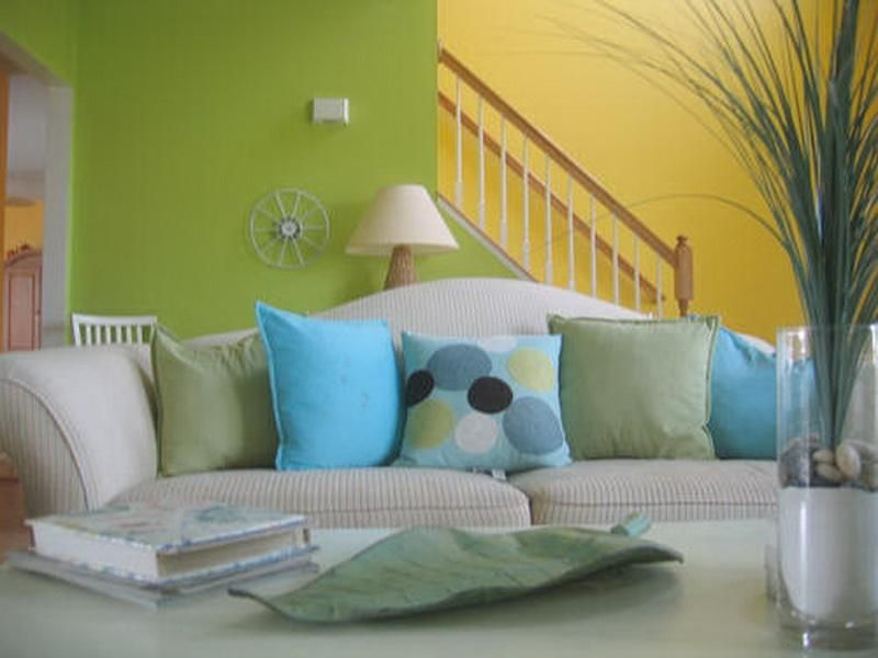 Good Color Combinations Green Yellow For Living Room Living Room Colors Small Living Room Decor Living Room Wall Color
