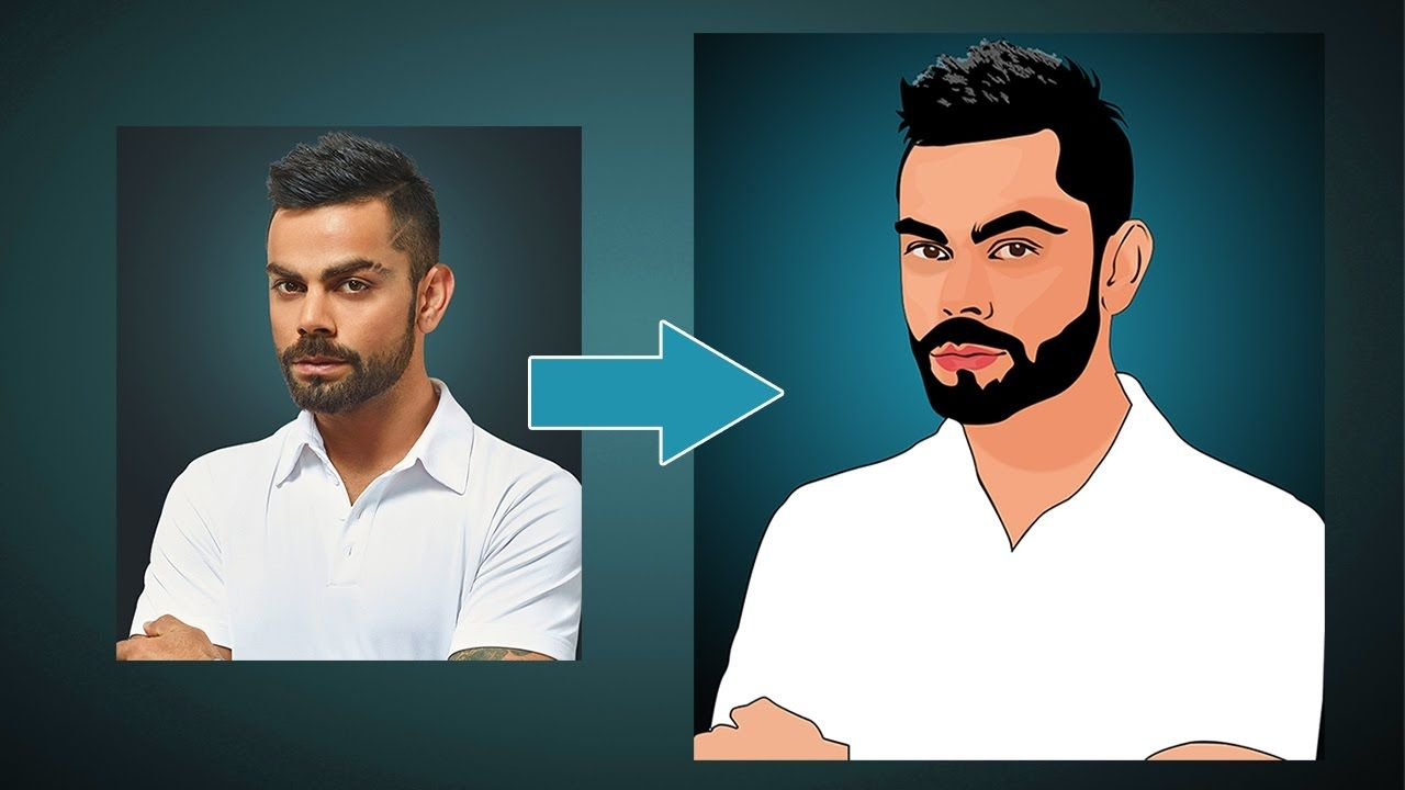 Photoshop Tutorial How To Make A Cartoon Avatar Speed Tutorial Photoshop For Photographers Graphic Design Tutorials Photoshop Photoshop