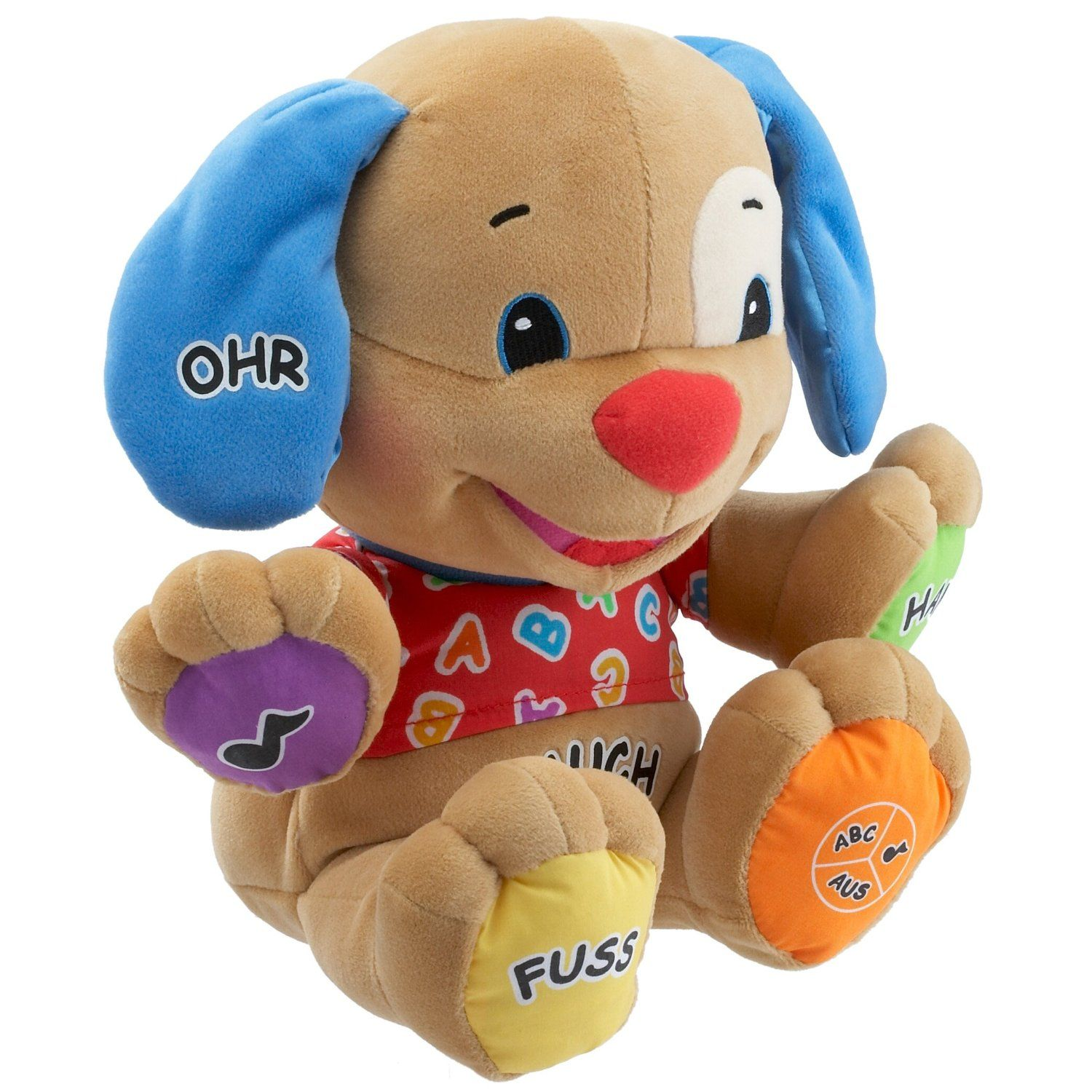 German Speaking Puppy from Fisher Price Laugh & Learn range