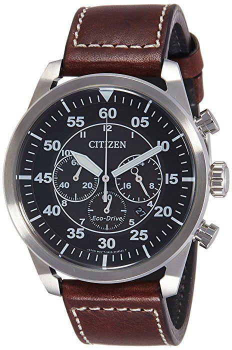 Orologio Citizen Eco-Drive Aviator Chrono CA4210-16E